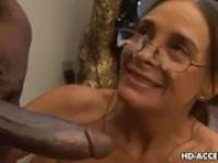 Schwarz-Weiß interracial Sex